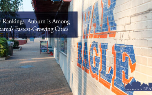 Auburn is among Alabama's fastest-growing cities