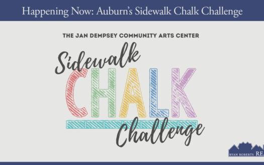 Auburn's Sidewalk Chalk Challenge