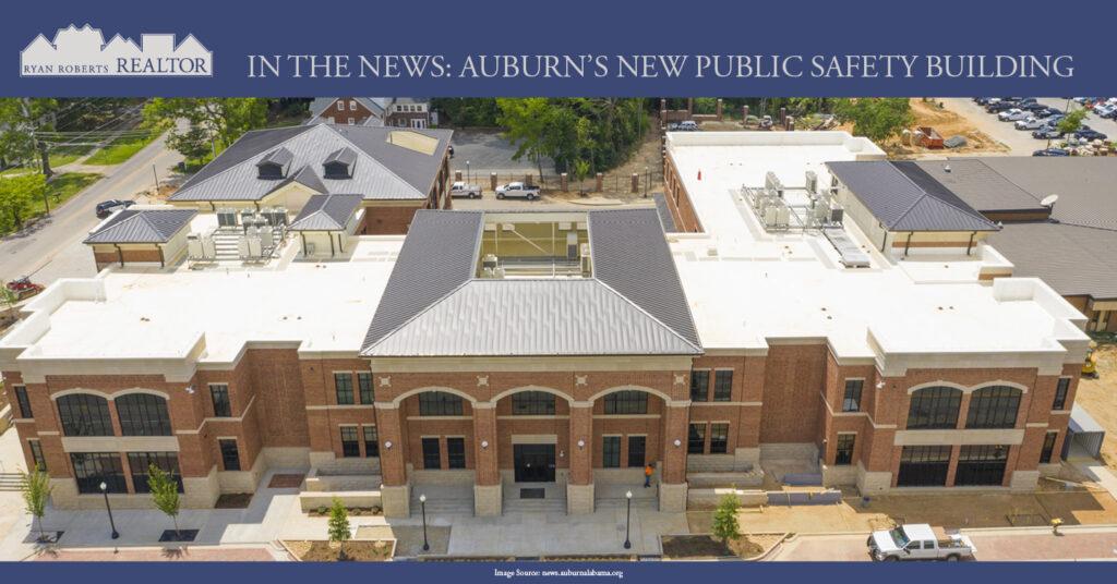 Auburn's new public safety building