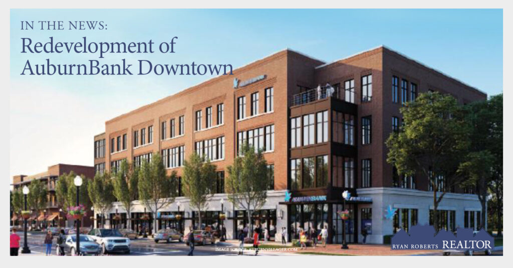redevelopment of AuburnBank Downtown