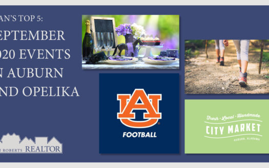 September 2020 Events in Auburn and Opelika