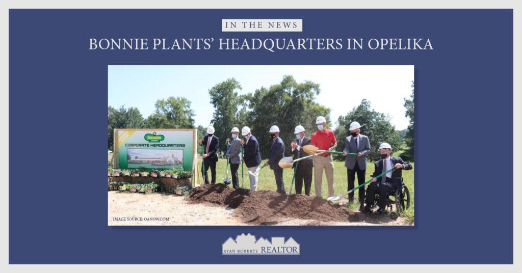 Bonnie Plants headquarters in Opelika