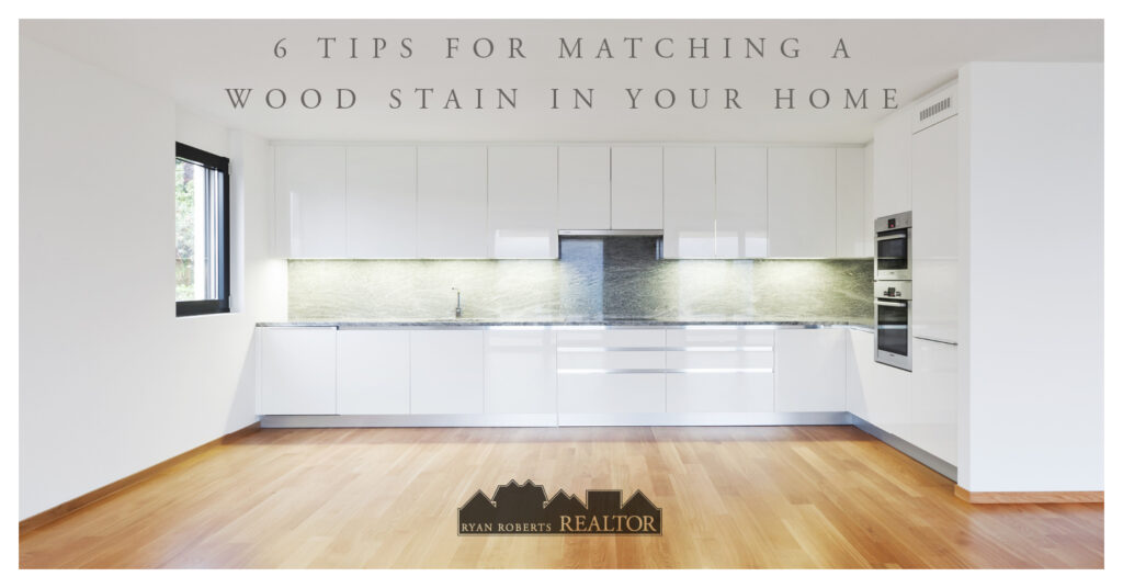 tips for matching a wood stain in your home