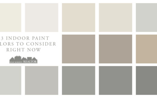 indoor paint colors to consider right now