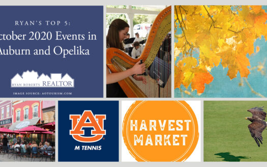 October 2020 Events in Auburn and Opelika