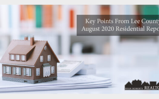 Key points from Lee County's August residential report