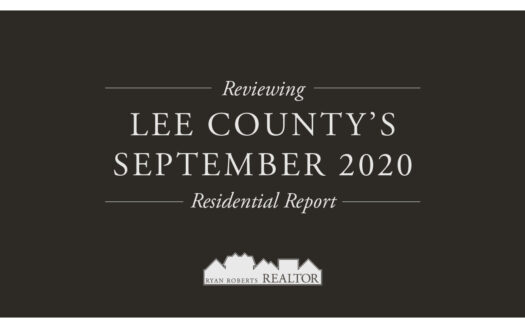 Lee County's September 2020 Residential Report