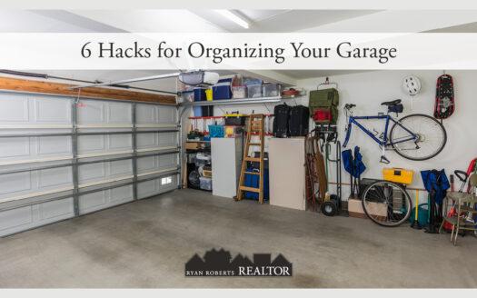 hacks for organizing your garage