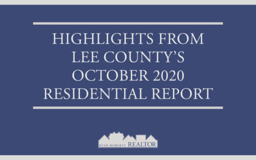 Lee County's October 2020 Residential Report