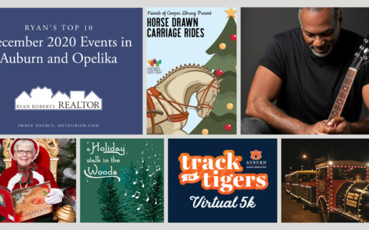 December 2020 Events in Auburn and Opelika