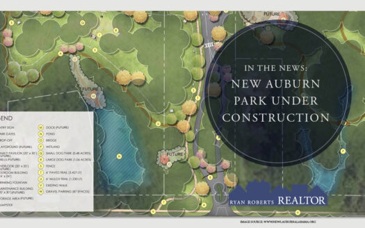 new Auburn park under construction