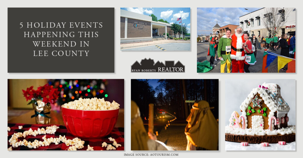 Holiday Events Happening This Weekend in Lee County