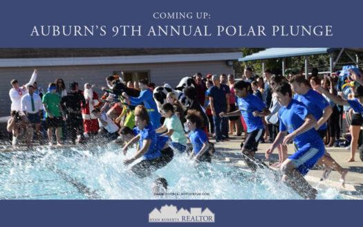Auburn's 9th Annual Polar Plunge