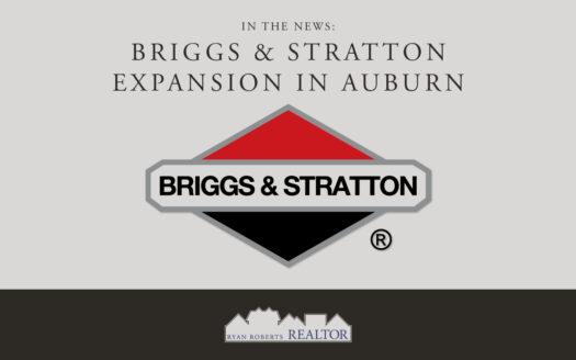 Briggs & Stratton Expansion in Auburn