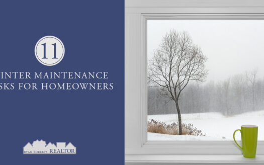 winter maintenance tasks for homeowners