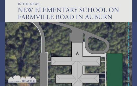 new elementary school on Farmville Road in Auburn