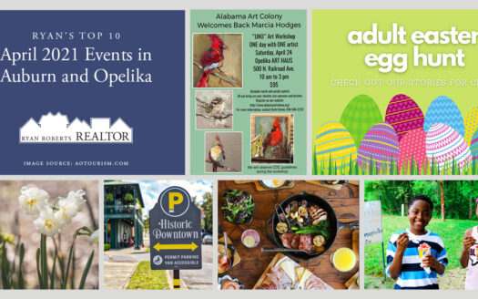 April 2021 Events in Auburn and Opelika