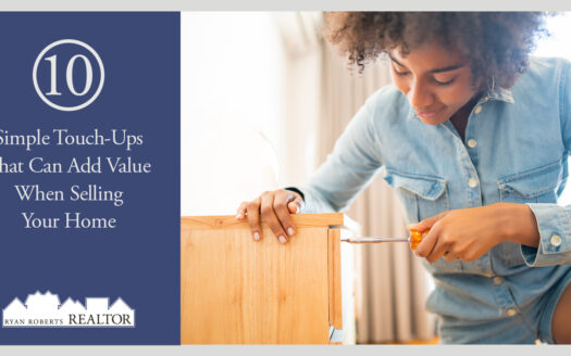 simple touch-ups that can add value when selling your home