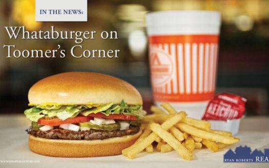 Whataburger on Toomer's Corner