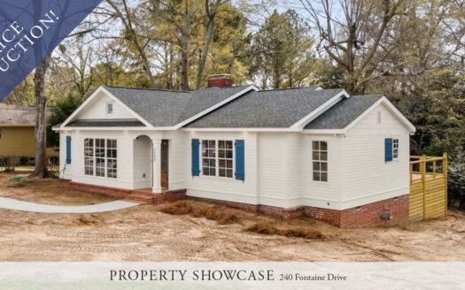 Price Reduction on 240 Fontaine Drive