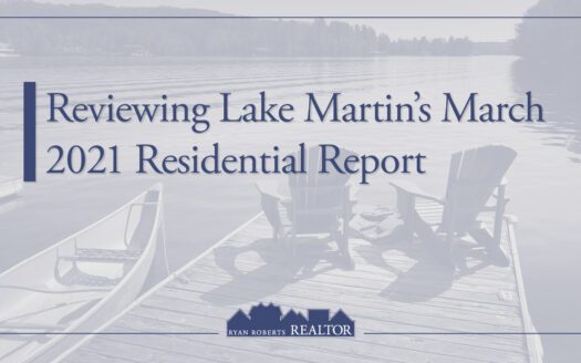 Lake Martin's March 2021 Residential Report