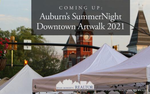 Auburn's SummerNight Downtown Artwalk 2021