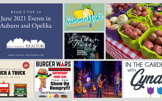 June 2021 Events in Auburn and Opelika