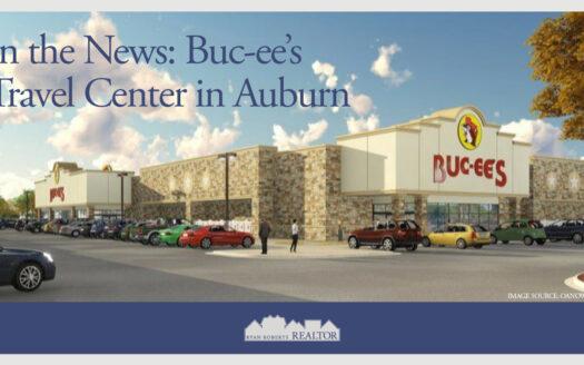 Buc-ee's Travel Center in Auburn