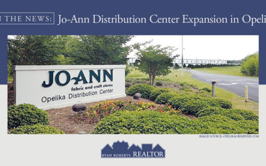 Jo-Ann Distribution Center Expansion in Opelika