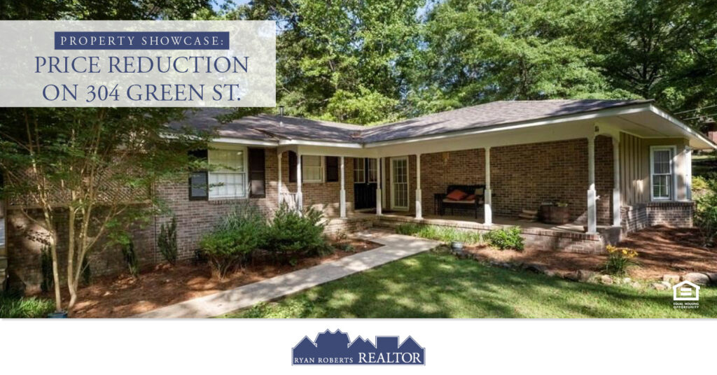 Price Reduction on 304 Green St.