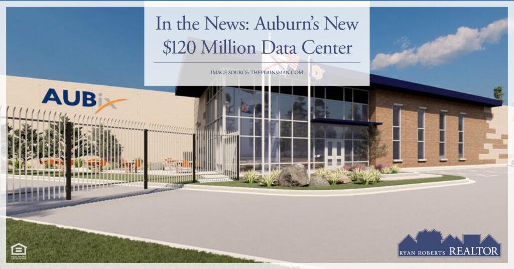 Auburn's New $120 Million Data Center