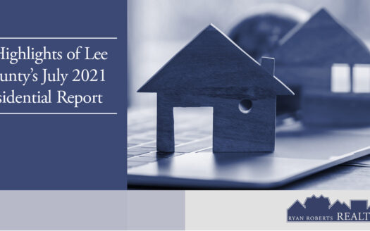 Lee County's July 2021 Residential Report