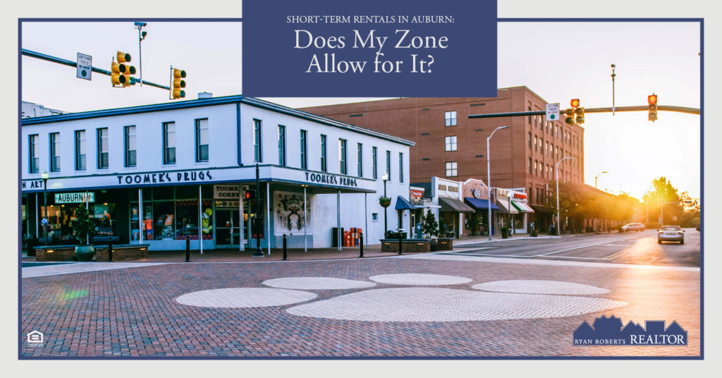 short-term rentals in Auburn