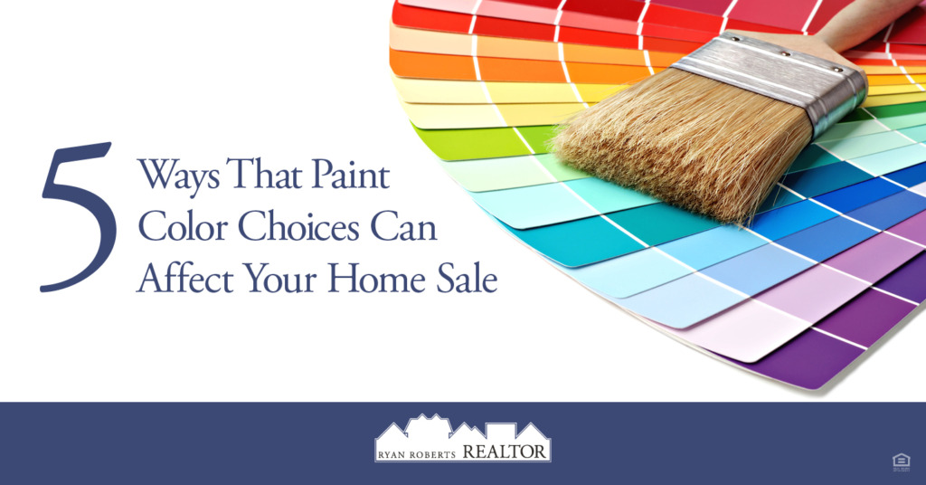 ways that paint color choices can affect your home sale
