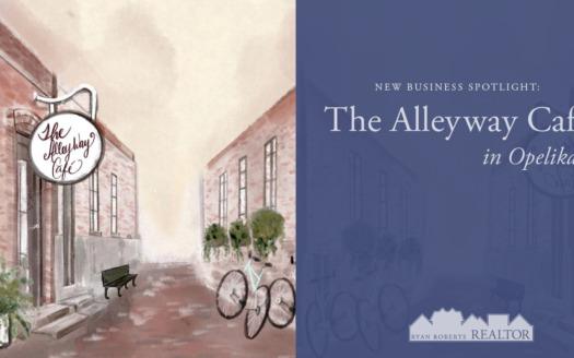 The Alleyway Café in Opelika