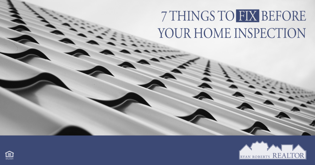 Things to Fix Before Your Home Inspection