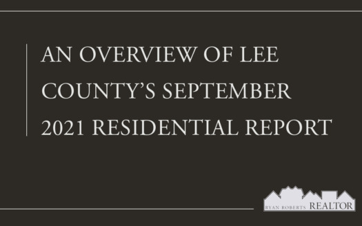 Lee County's September 2021 Residential Report